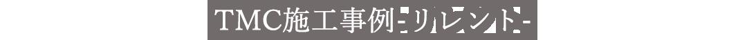 TMC施工事例 - リレント