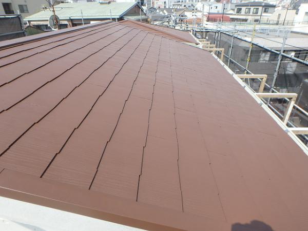 (1)屋根廻り仕上げ塗装