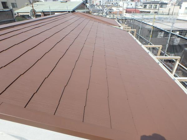 (1) 屋根廻り仕上げ塗装