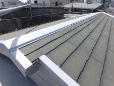 (10)屋根廻り鉄部錆止め塗装1