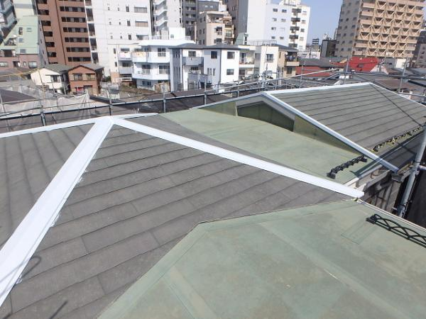 (11)屋根廻り鉄部錆止め塗装2