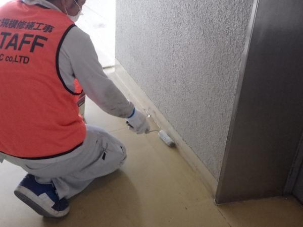 (14)廊下側溝防水