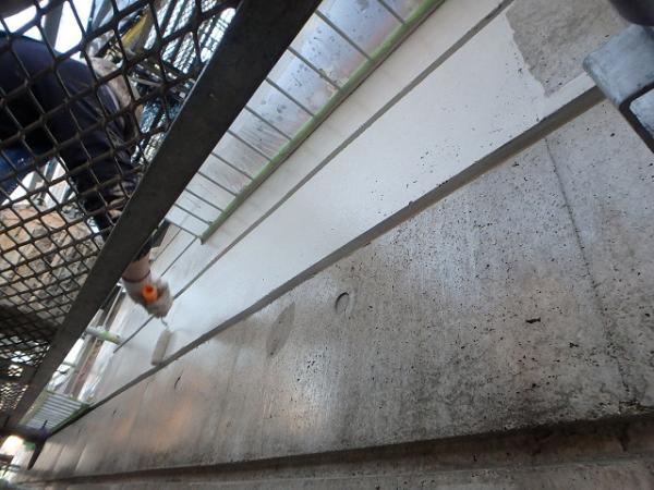 (2)外壁塗装(SA下塗り)