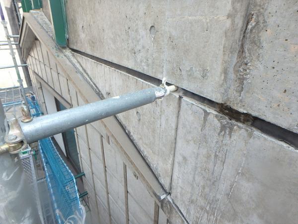 (4)足場繋ぎ設置