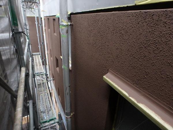 (5)外壁仕上げ塗装(リシン面)1