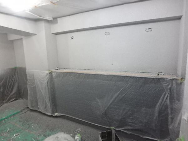 (7)トイレ壁吹付け塗装4