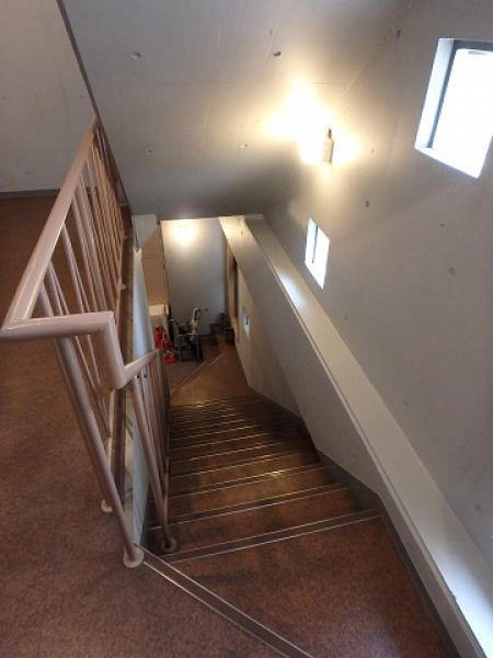 (7)共用廊下内工事完了2