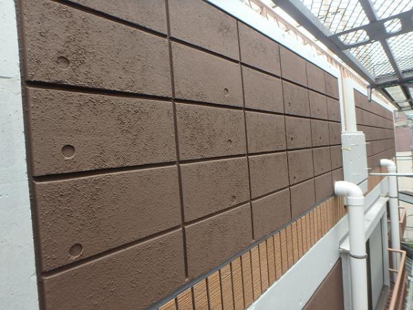 (7)外壁仕上げ塗装(リシン面)3