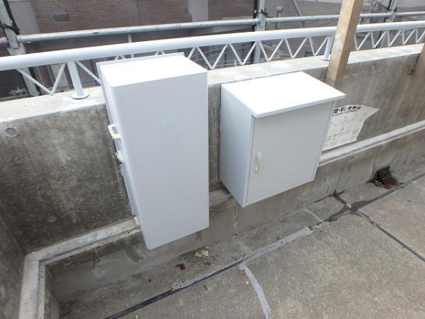 (7)避難器具BOX錆止め塗装1