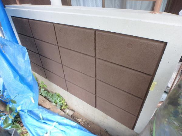 (8)外壁仕上げ塗装(リシン面)4