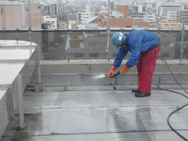(10) 屋上高圧洗浄