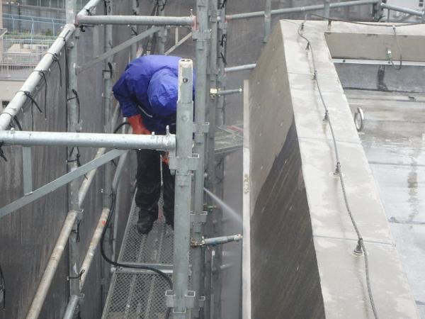 (11) 外壁高圧洗浄1