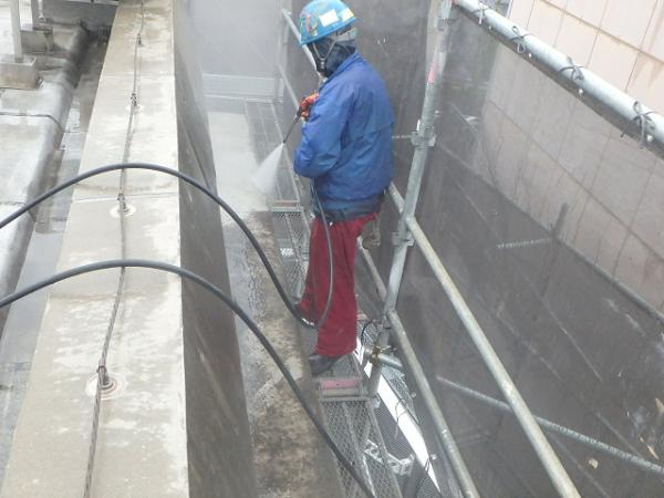 (12) 外壁高圧洗浄2
