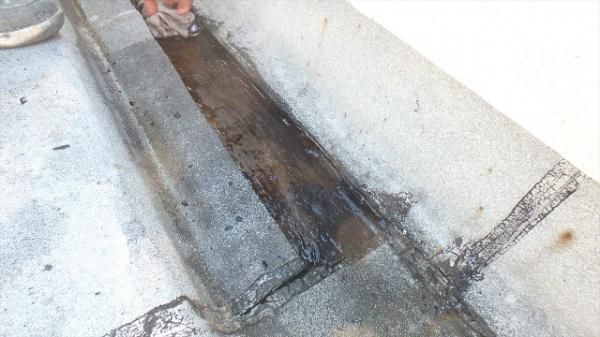 (1) 屋上防水劣化箇所撤去