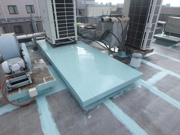 (2) 屋上架台防水1