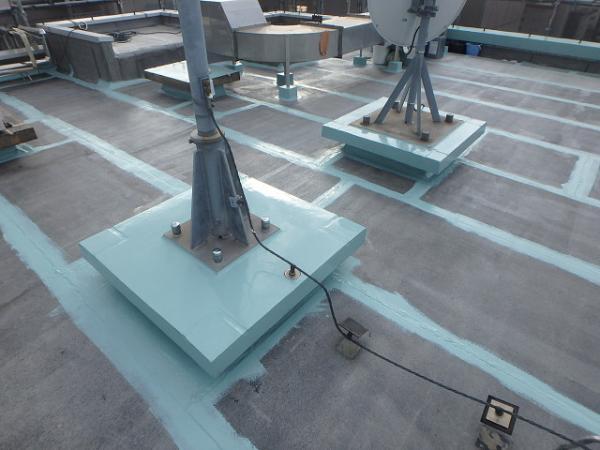 (3) 屋上架台防水2