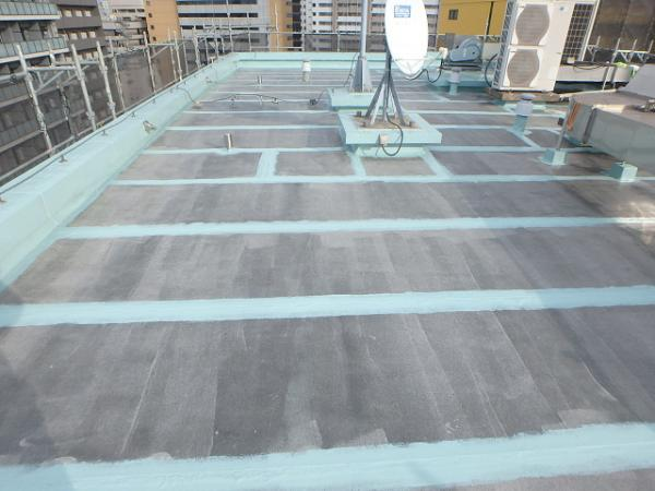 (4) 屋上既存接合部防水処理1