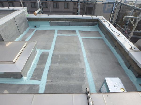 (5) 屋上既存接合部防水処理2
