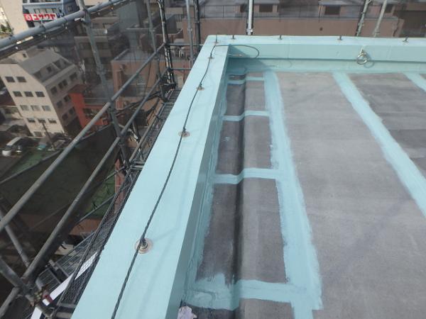 (6) 屋上パラペット防水