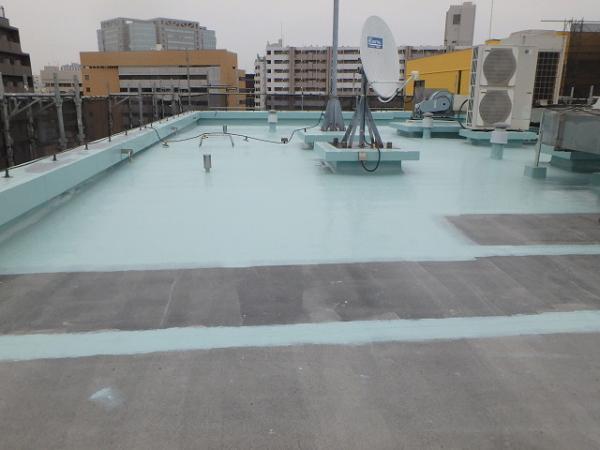 (6) 屋上防水1