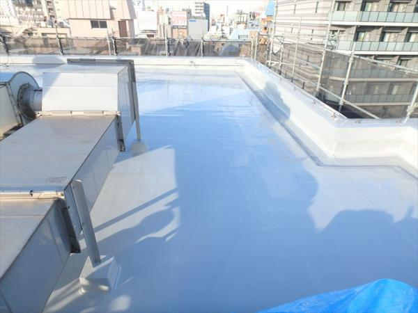 (5) 屋上防水トップコート完了4