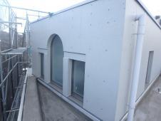 14.3階ルーフバルコニー廻り 外壁塗装