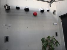 3.中庭右面外壁塗装1