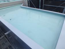7.屋上ウレタン防水塗装1層目5