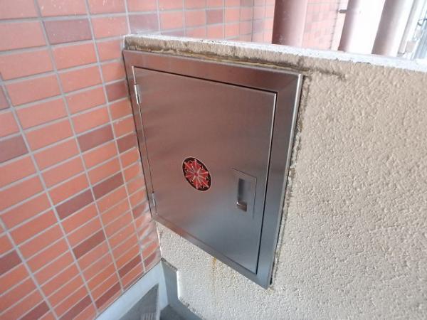 (1)連結送水管BOX交換