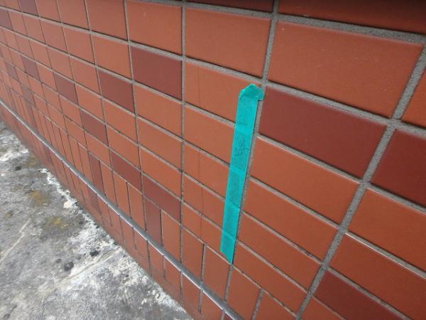 (3)外壁タイルクラック箇所