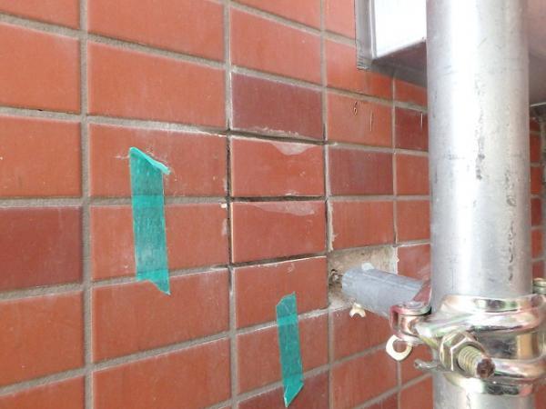 (3)外壁タイル貼替え2