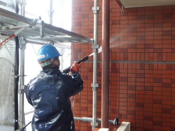 (11)外壁高圧洗浄3