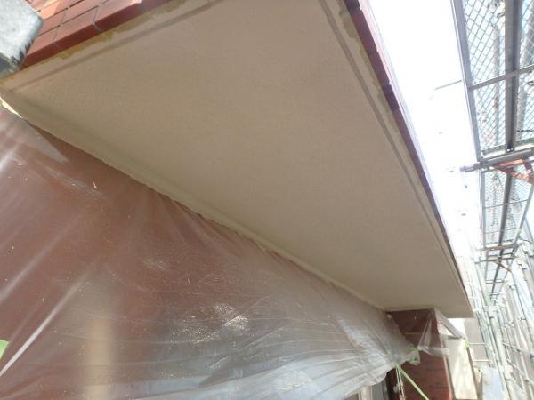 (2)ベランダ天井塗装2