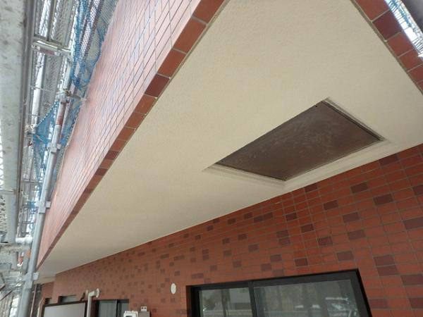 (3)ベランダ天井塗装3