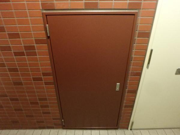 (10)共用廊下PS塗装塗装