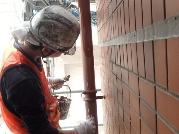 (1)竪樋塗装1