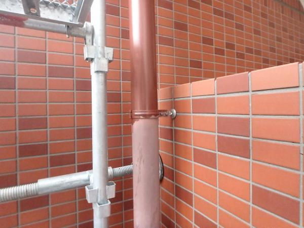 (2)竪樋塗装2