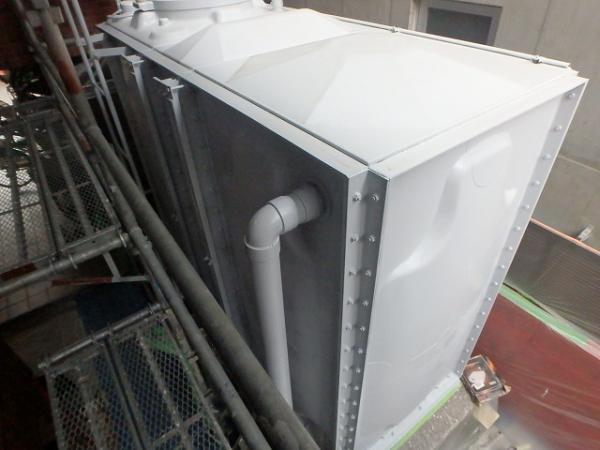 (4)貯水槽塗装1