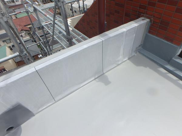 (12)屋上防水下地シート貼り2