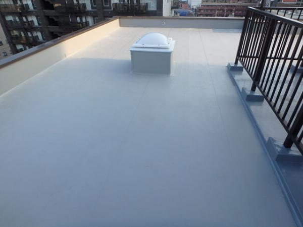 (14)屋上防水完了2