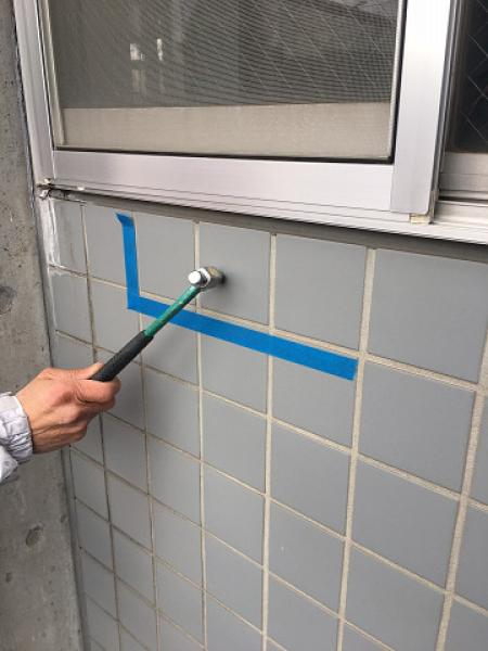 (2) 外壁打診調査2