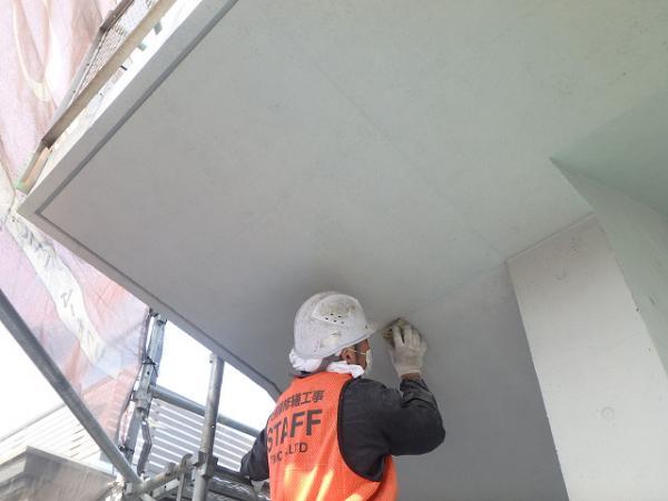 (2) 階段廻り塗装仕上げ1