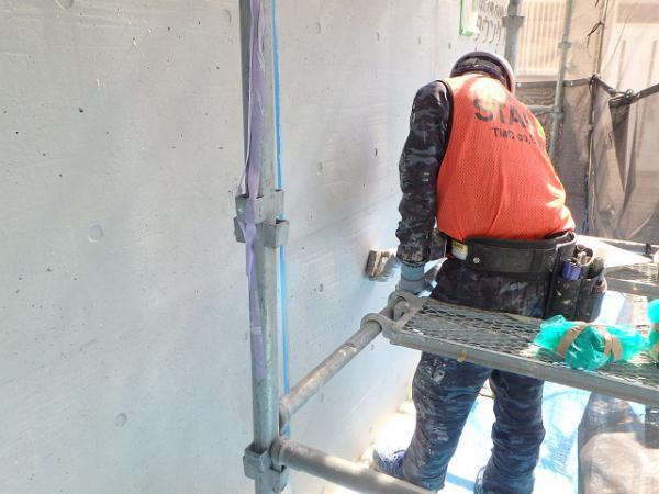 (9) 1階外壁塗装仕上げ