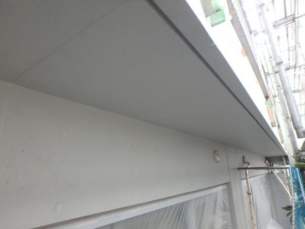 (4) 1階軒天塗装仕上げ1