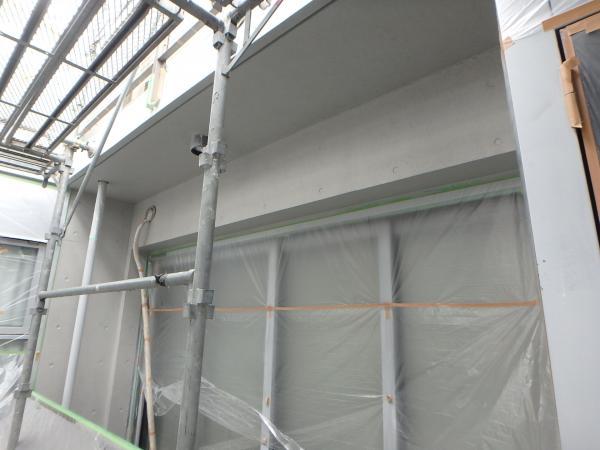 (6) 2階サッシ周り塗装仕上げ1