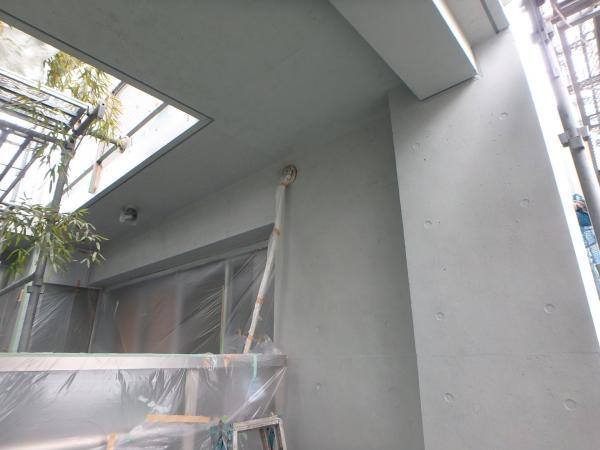 (7) 2階サッシ周り塗装仕上げ2