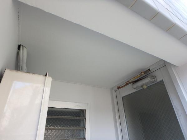 (2) 建物右面ベランダ天井塗装
