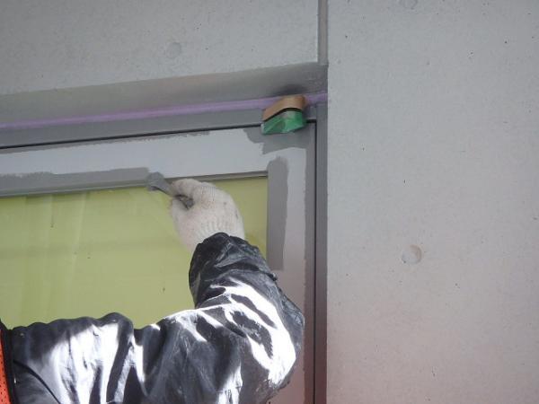 (13) 1階扉塗装1