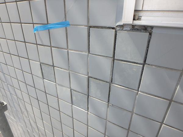 (2) 外壁タイル貼替え2