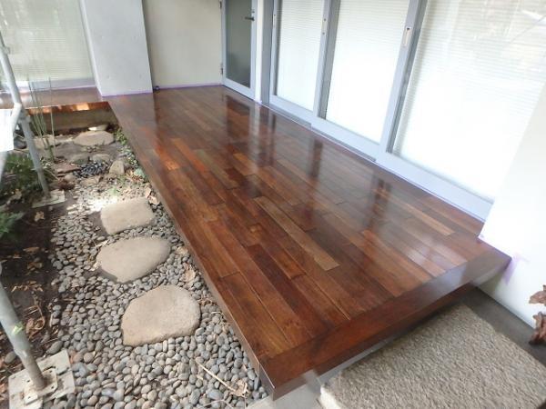 (12) 1階廻り木部防腐剤塗布